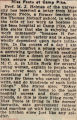 Foote, Frances -- News Clipping
