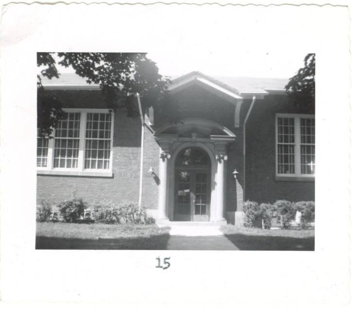 Libertyville High School, 1956