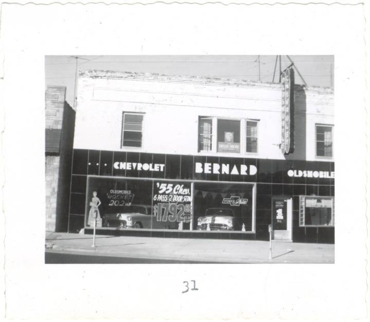 Bernard Chevrolet, 1955