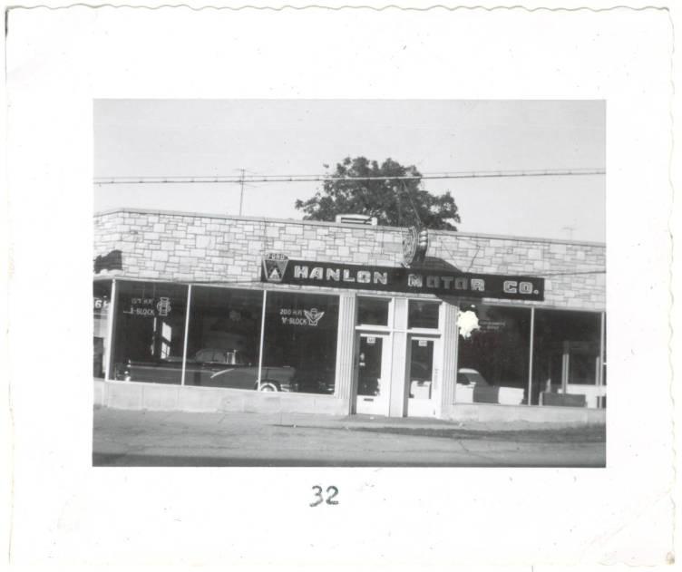 Hanlon Motor Co., 1955