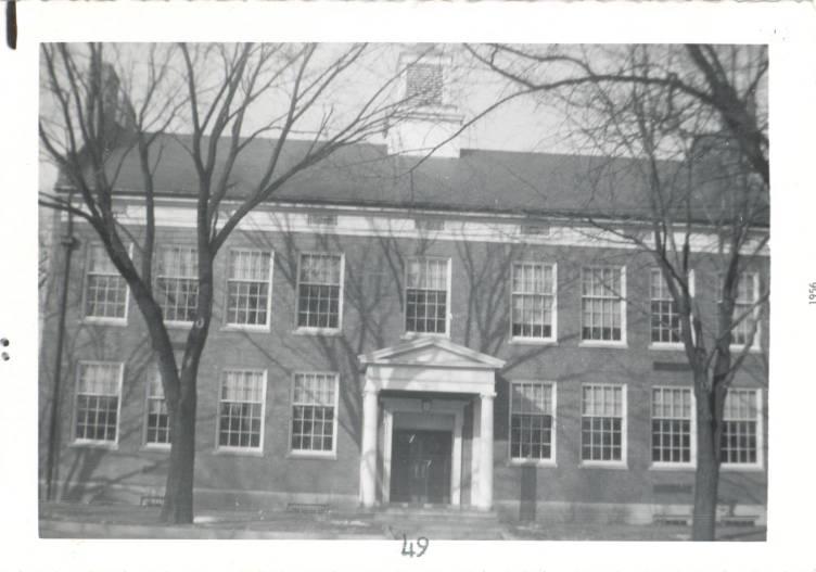 Central School, 1956
