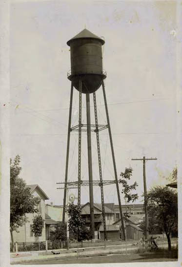 Water tower, c.1900-1909