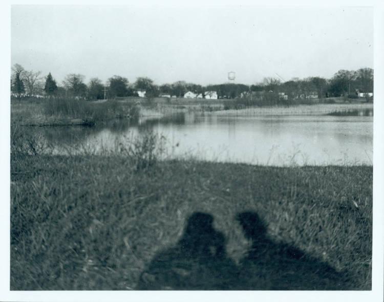 Butler Lake, looking east, 1947