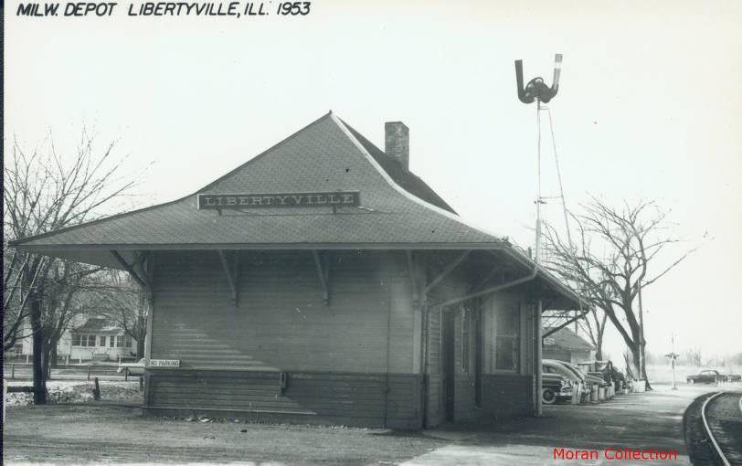 St. Paul Depot, 1953